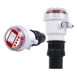 Ultrasonic Level Sensor, 4~20mA, 0.5%F.S, 0-60m, LCD Display