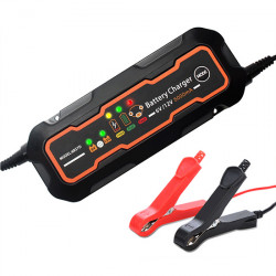 6V/12V Car Battery Charger, 5A, 220V Input