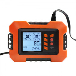 Automatic Car Battery Charger, 12V, 2A/8A/12A