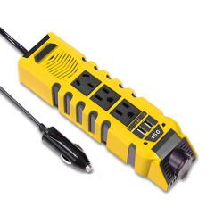 150W Car Power Inverter, DC 12V to 110V AC