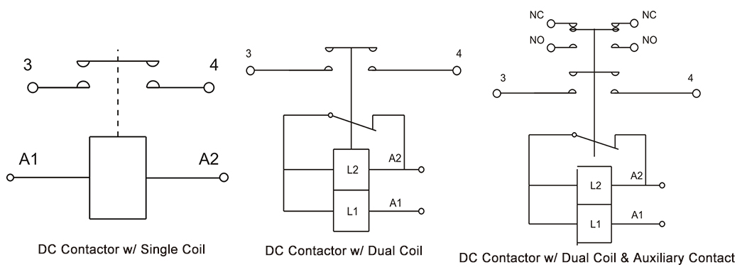 100A DC Contactor Wiring Diagram