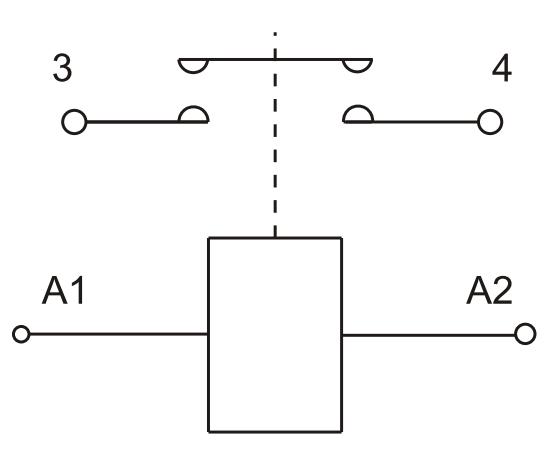 DC Contactor Wiring Diagram